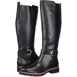TOMMY HILFIGER Frankly Faux Leather Tall Boots